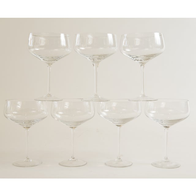 Image of Vintage Rosenthal Crystal Stems - Set of 7