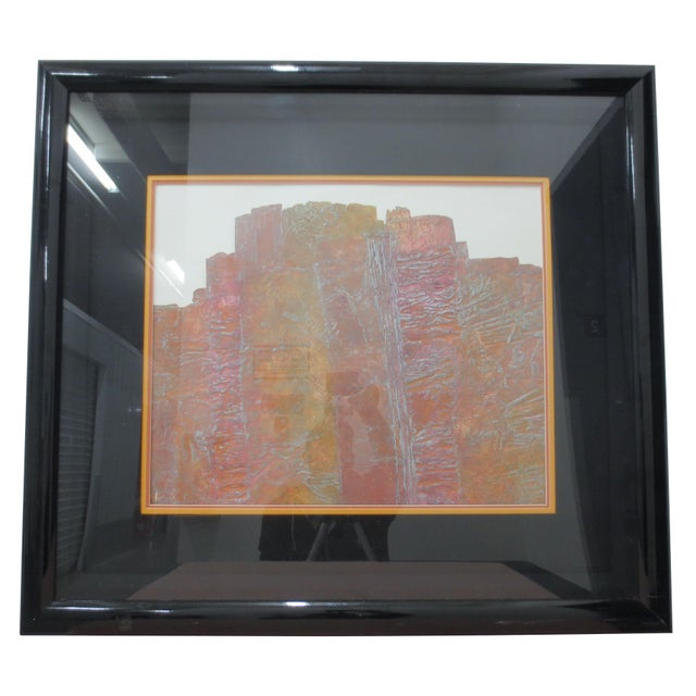 Janet Jones Framed rint on Paper - Solitary Canyon - Image 1 of 5
