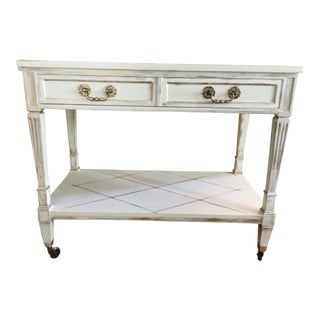 French Style Bar Cart Server