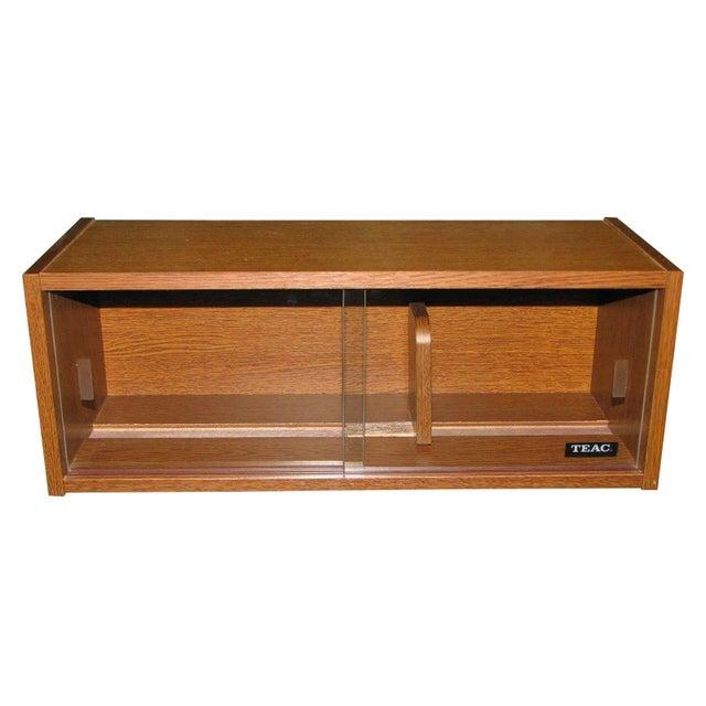Image of Vintage Danish Teac CD Cabinet