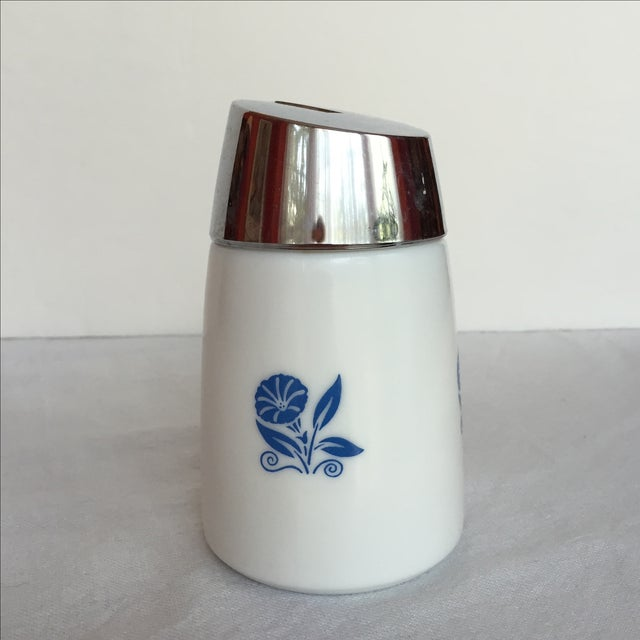 Image of Milk Glass Sugar Dispenser