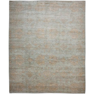 """New Oushak Hand-Knotted Rug - 8'4"""" x 10'1"""""""