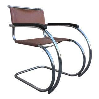 Vintage Ludwig Mies Van Der Rohe Mr20 Lounge Chair