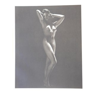 Vintage Nude Parisian Women Photogravure