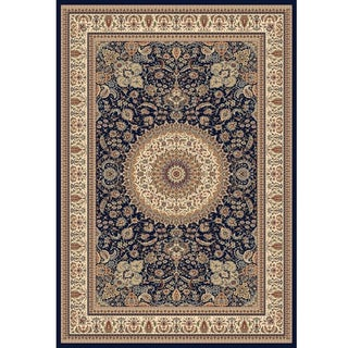 Traditional Medallion Rug - 8′ × 11′