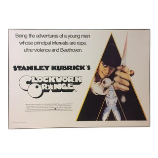 Original Clockwork Orange Poster