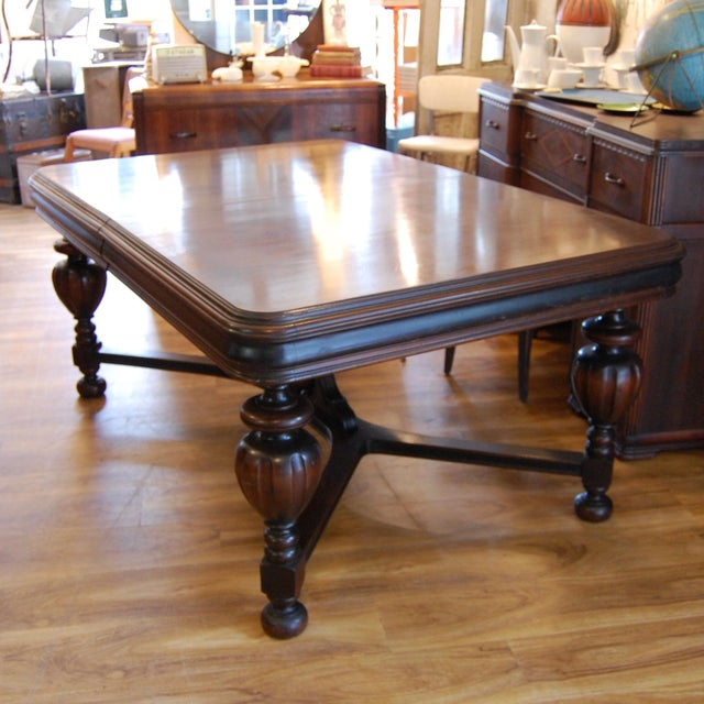 Vintage Traditional Mahogany Table - Image 8 of 8