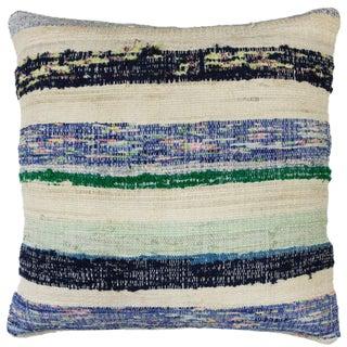 "Cotton Kilim Pillow | 18"""
