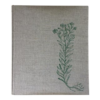 "Vintage ""Flax in Flanders"" Coffee Table Book"