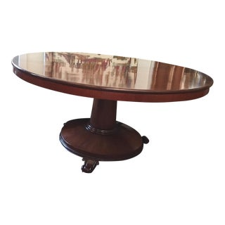 English Pedestal Table