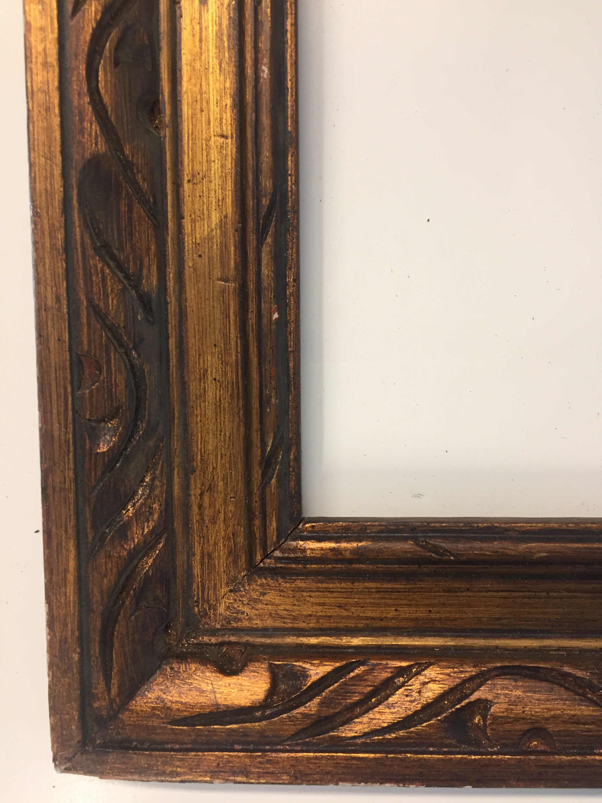 vintage mid century carved gold frame chairish