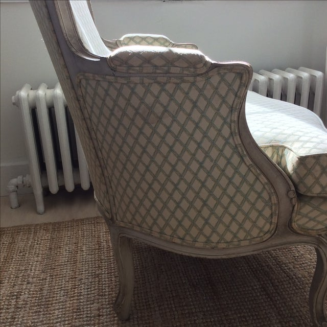 Vintage Louis XVI Bergere Style Chair - Image 7 of 7