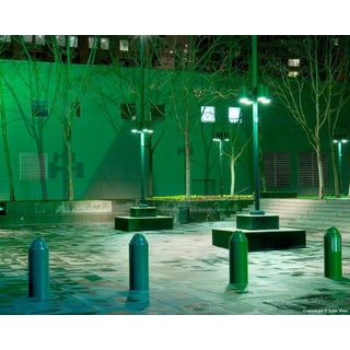 Repetition - Night Photograph by John Vias