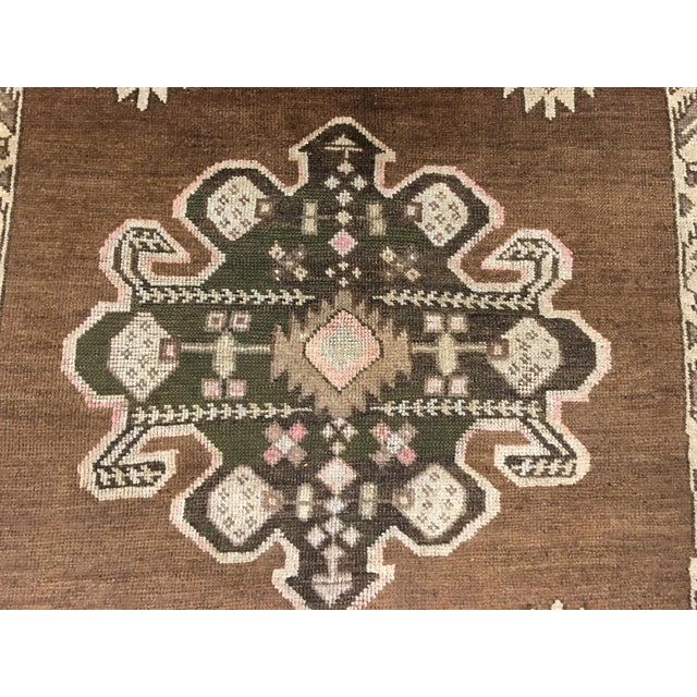 "Bellwether Rugs Turkish Oushak Runner- 5'3"" X 10'11"" - Image 7 of 9"