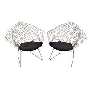 Harry Bertoia for Knoll Lounge Chairs - Pair