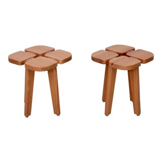 Lisa Johansson-Pape Stools, Finland, 1950 - A Pair