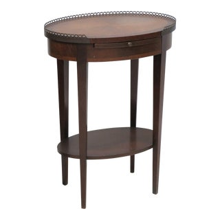 Louis XV Style Banded Top Side Table