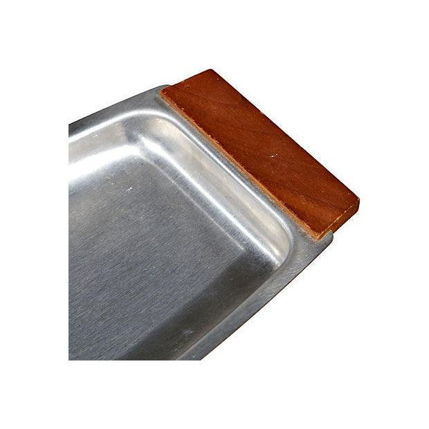 Image of Wood Handled Stainless Server