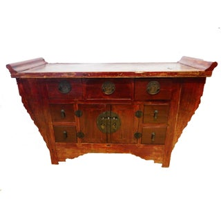 Cantonese Altar Table Chest
