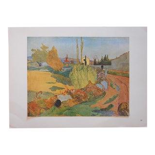 1949 Paul Gauguin Vintage Post Impressionist Lithograph