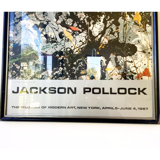 Jackson Pollock Moma Exhibition Poster - Image 4 of 4