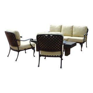 Summer Classics Provance Outdoor Living Room Set - Set of 3