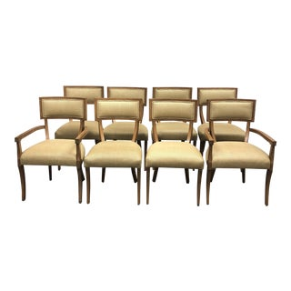 Michael Berman Grad Klismos Chairs - Set of 8