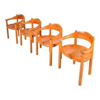 4 Dining Chairs by Rainer Daumiller for Hirtshals Sawmill, Denmark, circa 1970