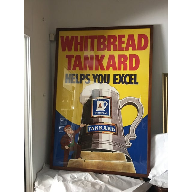 Original English Whitbred Tankard Ales Poster - Image 4 of 11