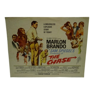"1966 Vintage ""The Chase"" Movie Poster"