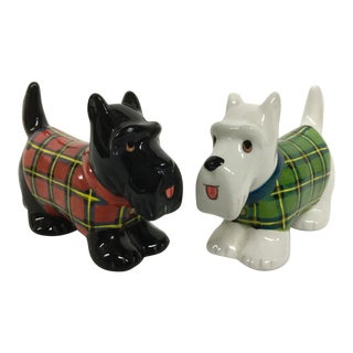 Scotty Dog Salt and Pepper Shakers