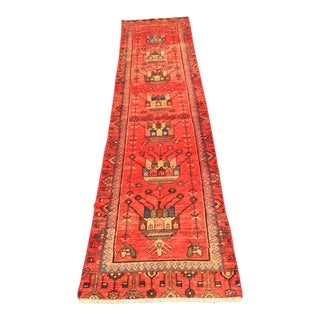 "Vintage Persian Zanjan Short Runner - 2'2""x8'7"""
