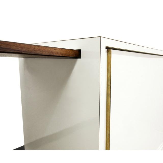 Vladimir Kagan Rolling Pedestal Bar - Image 5 of 10