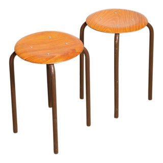 Low Task Stools - A Pair