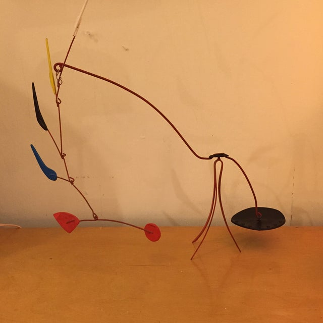 Abstract Mobile F. Ancil in the Manner of Calder - Image 2 of 11