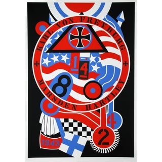 Robert Indiana, Hartley Elegies: KvF II Serigraph
