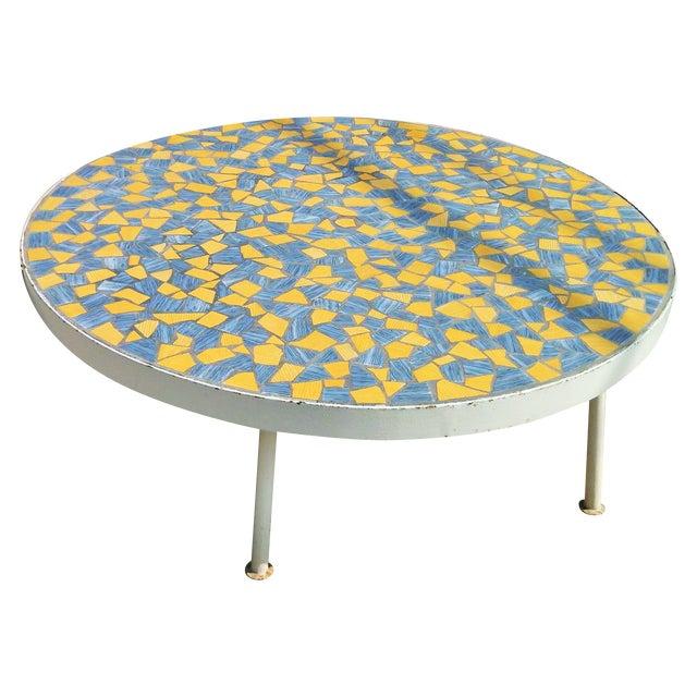"Coffee Table Leg Broken: ""Broken Tile"" Coffee Table"