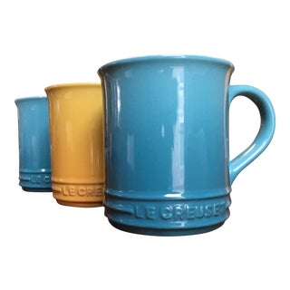Le Creuset Mugs - Set of 3