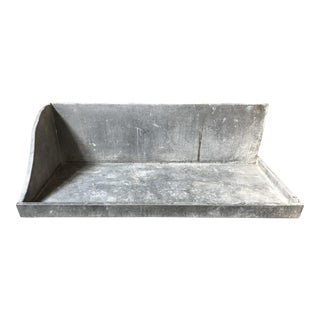 1950s French Zinc Basin