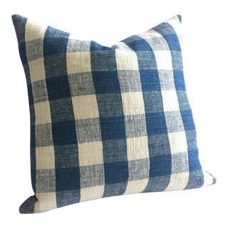 Hemp Hmong Woven Plaid Zippered Pillow Cover
