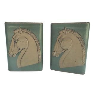 Mid-Century Trojan Horse Bookends