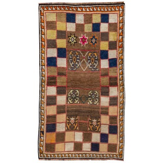 "Apadana - Indian Gabbeh Rug, 3'8"" x 6'6"""