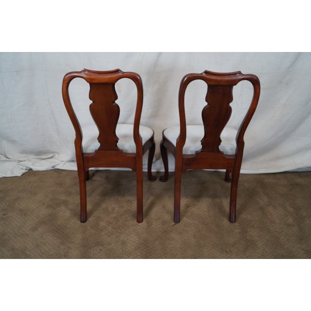 Hickory 18th Century Style Dining Chairs - S/6 - Image 7 of 10