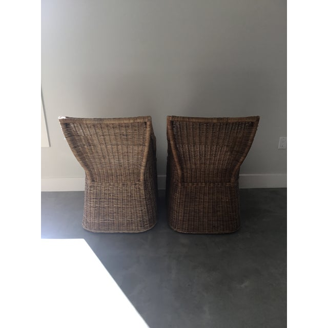 Williams-Sonoma Farallon Chairs - A Pair - Image 3 of 7