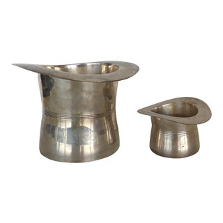 Top Hat Wine & Champagne Coolers - Pair