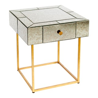 Dailyn Mirrored Side Table