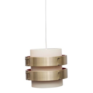 Double Barrel Spun Aluminum Ceiling Lamp