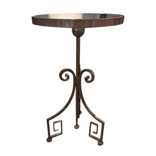 Greek Key Side Table