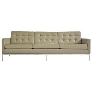 Florence Knoll Three-Seat Sofa for Knoll International