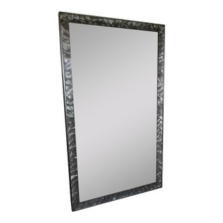 Antique Mother of Pearl Frame With Mirror